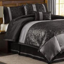 8 Peice Crocodile Comforter Set