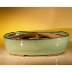 Land and Water Ceramic Bonsai Pot
