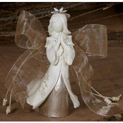 Sympathy Angel with Message Holder