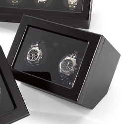 Black Double Automatic Watch Winder
