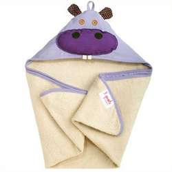 Hippo Organic Hooded Towel