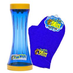 Refined Canine Paw Wash with Mitt Combo for Dogs