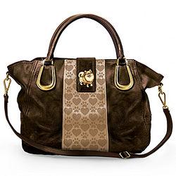 Pomeranian Love Satchel-Style Handbag