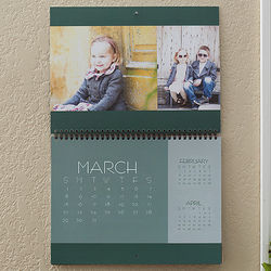 Picture Perfect Personalized Photo Wall Calendar