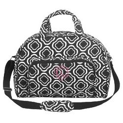 Quilted Honeycomb Duffle Bag