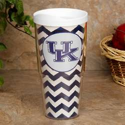 Kentucky Wildcats Chevron Tumbler