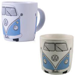 Volkswagen Blue Minibus Coffee Cup