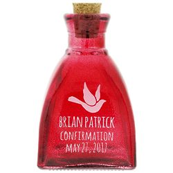 Personalized Confirmation Holy Water Bottle