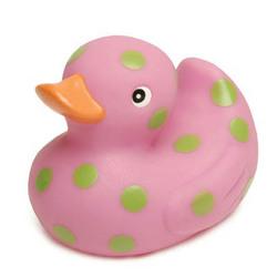 Polka Dot Rubber Ducky