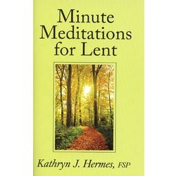 Minute Meditations for Lent Book