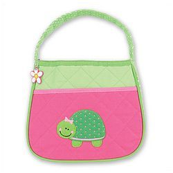 Pink Quilted Turtle Purse