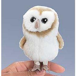 Barn Owl Finger Puppet