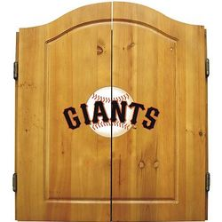San Francisco Giants Dartboard Cabinet