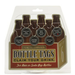 Claim Your Drink Bottle Tags
