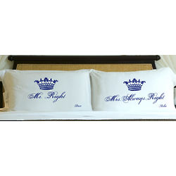 Royal Correctness Personalized Pillow Cases