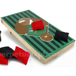 Baseball Desktop Cornhole Game