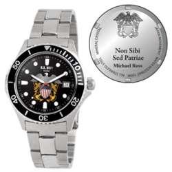 Men's U.S Navy Honor Stainless Steel Watch