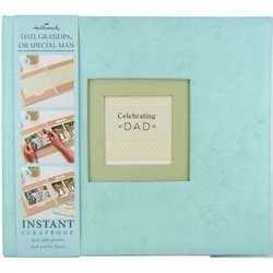 Celebrating Dad Instant Memory Book