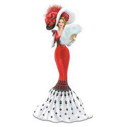 Coca-Cola Victorian Woman Figurine
