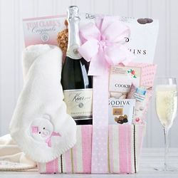 It's a Girl! Champagne Collection Gift Box