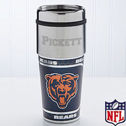 Chicago Bears Personalized Travel Mug