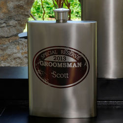 Personalized Special Reserve Flask
