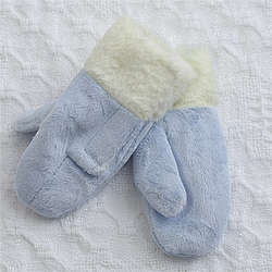 Winter Warmth Baby Boy Mittens