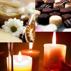 Spa, Chocolate and Candle Sweet Serenity of the Month Club
