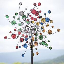 Confetti Kinetic Garden Wind Spinner