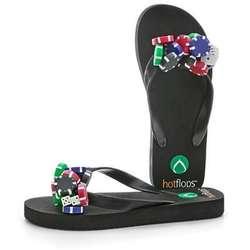 Coolflops Poker Chip Flip Flops
