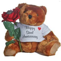11th Anniversary Teddy Bear