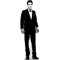 Elvis Presley Black Tuxedo Standup