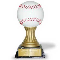 Personalized Baseball Trophy