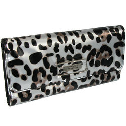 Kenneth Cole Reaction Cheetah Print Trifold Clutch