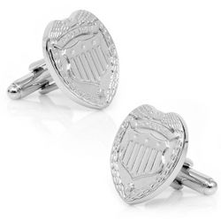 Police Badge Cuff Links