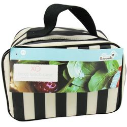 XO Eco Tuxedo Stripe Lunch Case