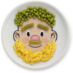 Mr. Food Ceramic Face Plate