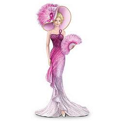 Pink Fantasy Figurine