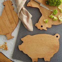 Farm Animal Wood Cutting Board