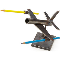 Steel Plane Desktop Caddy