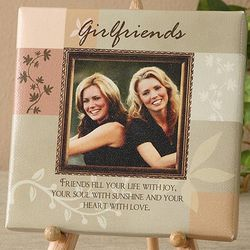 Friendship Personalized Photo Canvas Art