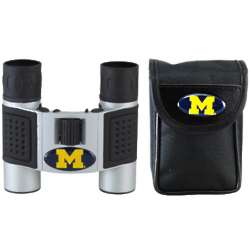 Michigan Wolverines Logo Binoculars with Case