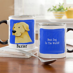 Top Dog Breeds Personalized Coffee Mug