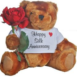 12th Anniversary Teddy Bear