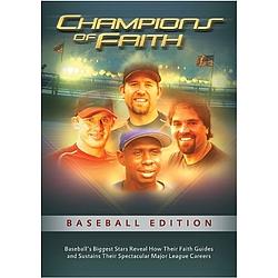 Champions of Faith DVD Baseball Edition