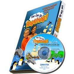 You Can Do Anything Personalized DVD for Kids