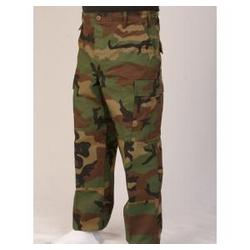 Twill Woodland Camo BDU Pants