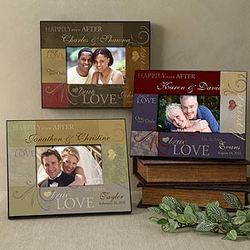 Love is a Promise Custom Photo Frame