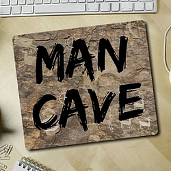 Man Cave Mousepad