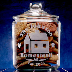 Personalized Homestead Cookie Jar